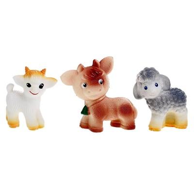 Набор резиновых игрушек «Бабушкино Подворье» - Фото 1