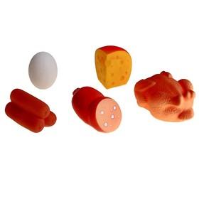 Набор резиновых игрушек «Продукты»