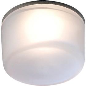 Встраиваемый светильник Novotech, 50 Вт, GY6,35, 12 В, 62x62 мм, d=62 мм, цвет хром