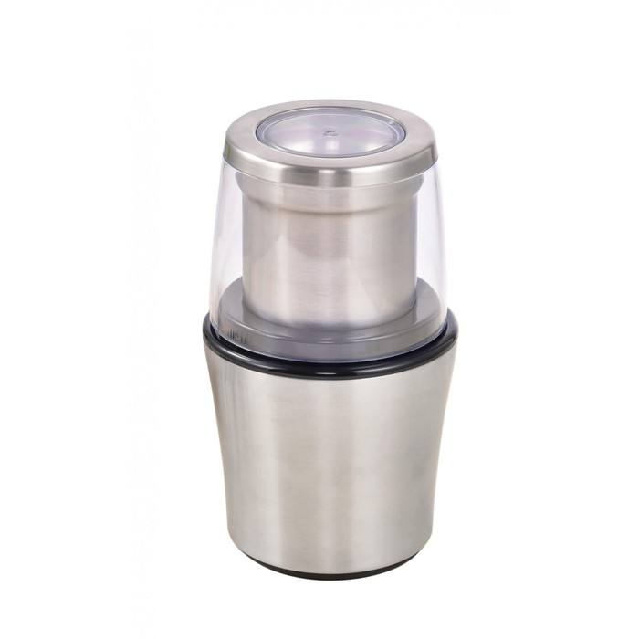 Кофемолка Gemlux GL-CG998, 200 Вт, загрузка до 70 г, импульсный принцип работы, серебристая