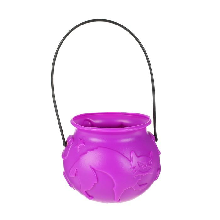 Конфетница Кошка, цвет фиолетовый