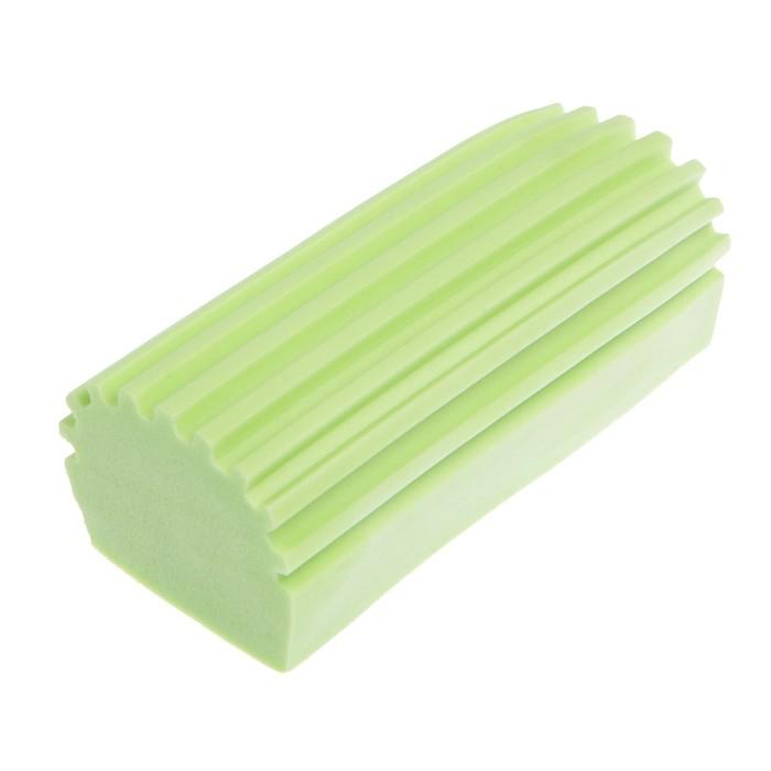 Губка для мытья авто TORSO, влаговпитывающая 10.5×5 см, микс
