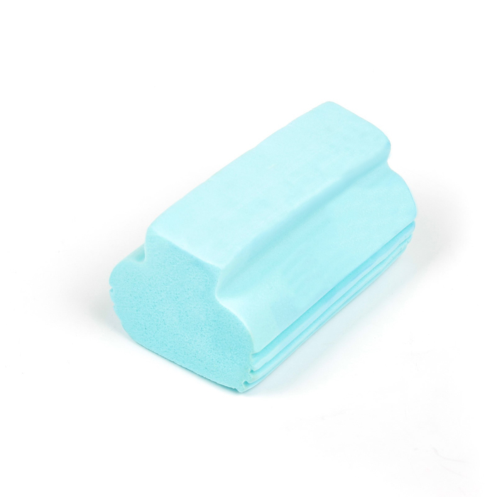 Губка для мытья авто TORSO, влаговпитывающая 12×5 см, микс