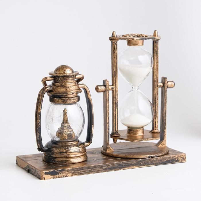 Часы песочные Керосин, 15.5х6.5х12.5 см, микс