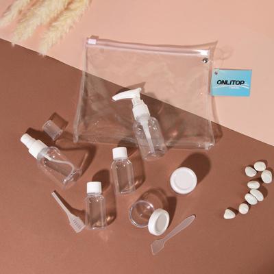 Набор для хранения, в чехле, 8 предметов, цвет белый