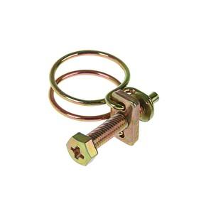 Хомут проволочный MGF W1, 3/4', диаметр 14-19 мм, оцинкованный Ош
