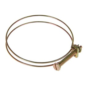 Хомут проволочный MGF W1, 3 1/2', диаметр 79-89 мм, оцинкованный Ош