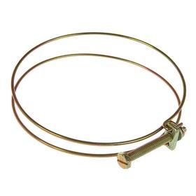 Хомут проволочный MGF W1, 4 1/4', диаметр 98-108 мм, оцинкованный Ош