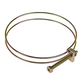 Хомут проволочный MGF W1, 4 1/2', диаметр 104-114 мм, оцинкованный Ош