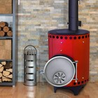 Воздухогрейная печь-буржуйка «Столыпинка»