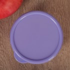 Контейнер круглый Доляна, пищевой, 150 мл, цвет сиреневый - Фото 3