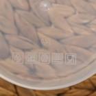 Набор контейнеров пищевых круглых Доляна, 3 шт: 150 мл, 300 мл, 500 мл, цвет фиолетовый - Фото 7