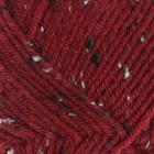 """Пряжа """"Super Inci Hit Tweed"""" 20%шерсть, 75%акрил, 5%вискоза 180м/100гр (1175 т. красн.)"""