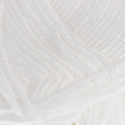 "Пряжа ""Vega"" 100% премиум акрил 195м/100гр (208 белый) - Фото 1"