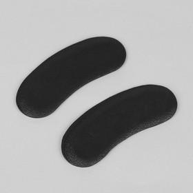 Пяткоудерживатели для обуви, на клеевой основе, пара, цвет чёрный Ош