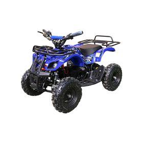 Детский электро квадроцикл MOTAX ATV Х-16 1000W BIGWHEEL (большие колеса), синий