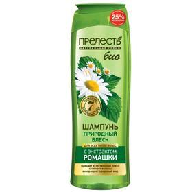 Шампунь для волос Прелесть Bio «Природный блеск», 500 мл