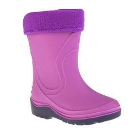 Сапоги детские MINAKU, цвет фиолетовый, размер 34 Ош