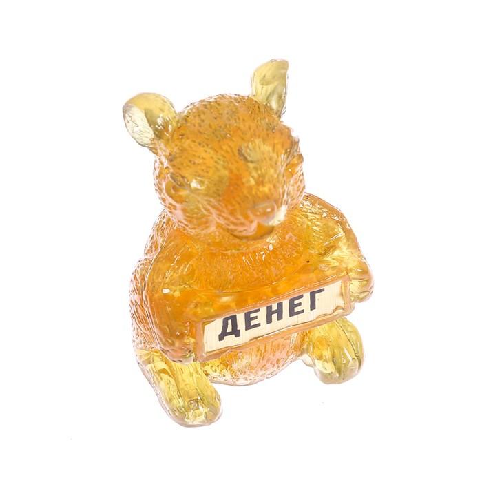 Фигурка Денег, мышка , 3 х 3 см