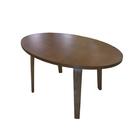 Столик кофейный круглый ВТ-02, 1000 х 600 х 540 мм, массив гевеи