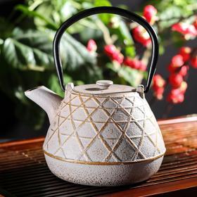 Чайник с ситом 1 л 'Ламис', цвет МИКС Ош