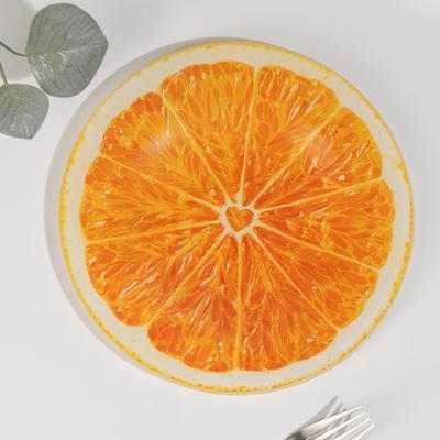 Тарелка «Апельсин», d=21,5 см - Фото 1