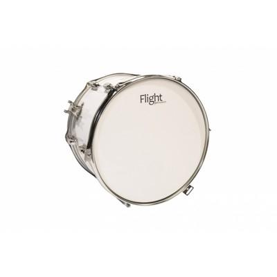 Маршевый барабан FLIGHT FMT-1410WH (тенор). В комплекте палочки и ремень для барабана