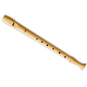 Блокфлейта HOHNER B9509 С-Soprano, система барокко, пластик, 1 часть
