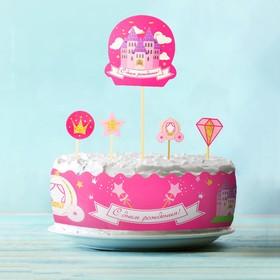 Набор для украшения торта «Принцесса» Ош