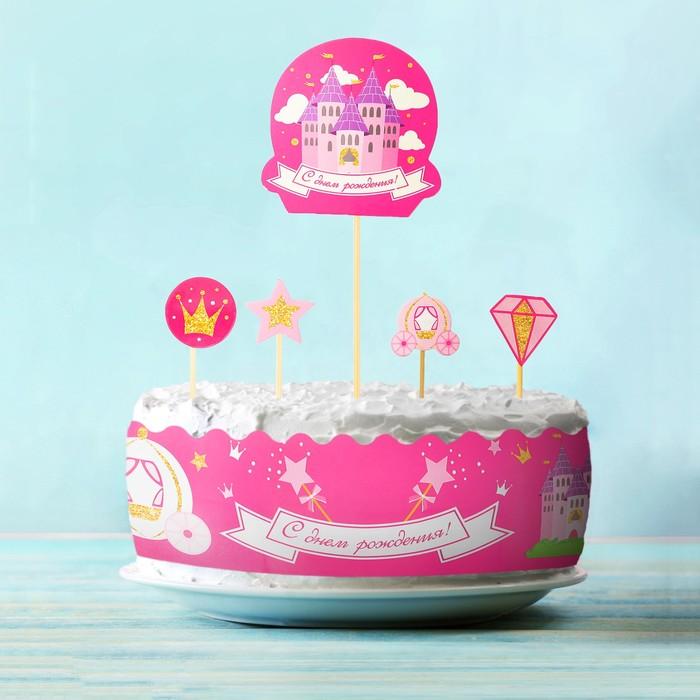 Набор для украшения торта Принцесса