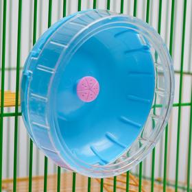Колесо для грызунов, 11 см, микс цветов Ош