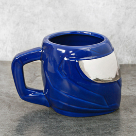 Кружка «Шлем», синяя, 600 мл