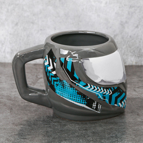 Кружка шлем «Графика», 600 мл
