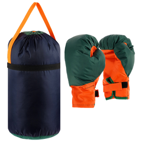 Детский боксёрский набор большой (перчатки+ груша d25 h40см) Ош