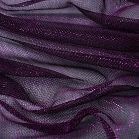 Трикотаж плательный, сетка мягкая, ширина 150 см, бордовый Ош