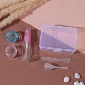 Набор для хранения, в футляре, 5 предметов, цвет МИКС Ош