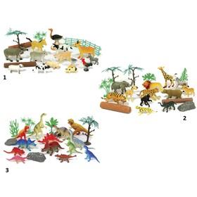 Игровой набор Boley Рюкзачок «В мире животных», 20 штук, МИКС