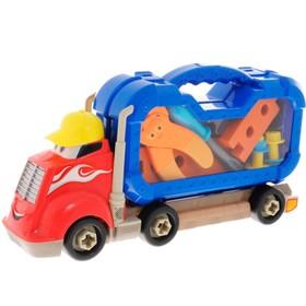 Грузовик «Смелый гонщик», с машинками