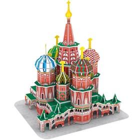 ЗD-пазл «Собор Василия Блаженного»