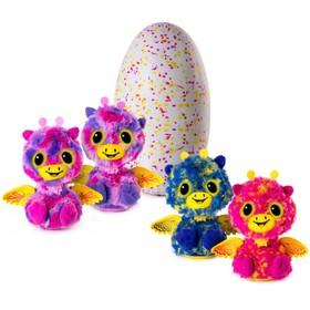 Интерактивная игрушка-сюрприз Hatchimals «Близнецы» вылупляющиеся из яйца, МИКС