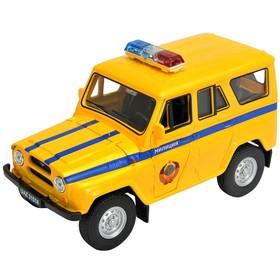 Коллекционная модель машины LADA 2108 УАЗ 31514 «Милиция», масштаб 1:34-39