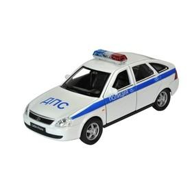 Коллекционная модель машины LADA PRIORA «Полиция», масштаб 1:34-39