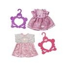 Одежда для куклы Baby Annabell «Платья», с вешалкой, МИКС