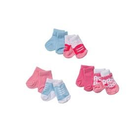 Одежда для куклы Baby Annabell «Носочки», две пары, в блистере, МИКС