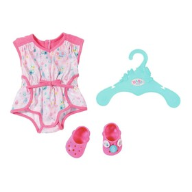 Одежда для куклы BABY born «Пижамка с обувью», с вешалкой