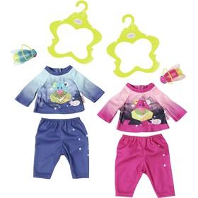 Одежда для куклы BABY born «Удобный костюмчик и светлячок-ночник», с вешалкой