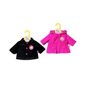 Одежда для куклы Zapf Creation «Курточки», с вешалкой, МИКС