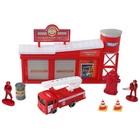 Игровой набор «Пожарная часть»