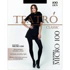 Колготки женские Micro 100 цвет чёрный (nero), р-р 2