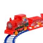 Железная дорога «Новогоднее путешествие», работает от батареек - Фото 3